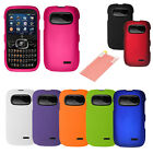 Hard Cover Case Accessory w/ Free Screen Protector For ZTE Z432 AT&T Go Phone