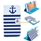 NEW Anchor Flip Wallet Leather Case Cover For iphone samsung HTC LG MOTO phones