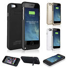 4800mAh External Battery Case Power Charger Charging Cover For iPhone 6 Plus 5.5