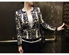 New GirlsWomens Porcelain Long Sleeve Knitted Sweater Cardigan Jacket Coat Tops