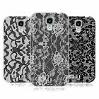HEAD CASE BLACK LACE GEL BACK CASE COVER FOR SAMSUNG GALAXY S4 I9500