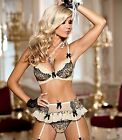 AXAMI SET Push-up BH +String V-4311 Fashy Dessous Cup 65 70 75 80 85 ABCDE