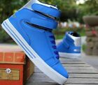 Fashion Men's Casual Ankle Boots Breathable Cingulate Hip-hop High shoes T228