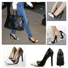 New Chic Women Sexy Pointy Toe OL  High Heel Shoes Pumps Hollow Stilettos