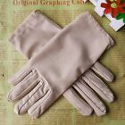 Stretch Satin Gloves for Women Evening Party Wedding Formal Prom Gloves 10 Color
