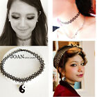 2015 VINTAGE STRETCH TATTOO CHOKER NECKLACE CHARM HENNA ELASTIC RETRO COLLAR 90S