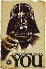 New Star Wars Darth Vader Your Empire Needs You Poster