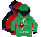 Stardust KILL ZOMBIES HOODIE Boys/Girls Child/Kids Clothing Cotton BN