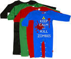 Stardust KILL ZOMBIES PLAYSUIT Boys/Girls Baby Clothing Cotton BN