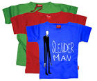Stardust SLENDERMAN T-SHIRT Unisex Baby/Child/Kids Clothing Cotton BN