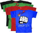 Stardust BROFIST T-SHIRT Unisex Baby/Child/Kids Clothing Cotton BN