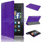 New Slim Smart Multi-Function Leather Case For Amazon Kindle Fire HD 7 2014