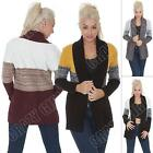 Ladies Womens Knitted Cardigan Open Long Sleeve Stylish Winter Top Size 8 10 12