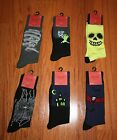 NWT Men's Mossimo Halloween Socks  ~Various Designs~ Sz 6-12 Shoe Size