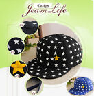 New Cute Star Kids Boy Girl Baseball Unisex Hip-Hop Hat Cap Cotton AU Stock