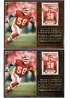 Derrick Thomas #58 Kansas City Chiefs 9-Time Pro Bowl Hall of Fame Photo Plaque $26.55 USD on eBay