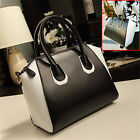 Faux Leather Crossbody Shoulder Satchel Bag Women Portable Handbag Purse Royal
