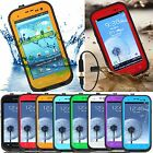 Waterproof Shockproof Dirt Proof Durable Case Cover For Apple Samsung Galaxy HTC