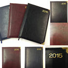 A5 Leather Look Week To View 2015 Diary *Ideal Stocking Filler*
