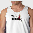 The Rodfather Fishing Parody Mafia movie T-shirt Funny Anglers Men's Tank Top