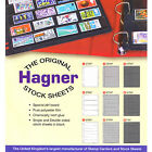 Hagner support timbres collection Feuille simple ou double face - choix tailles