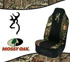 SPG Universal Browning Realtree Mossy Oak Seat Cover for Cars, Trucks and SUV's