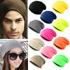 2015 Unisex Women Men Knitted Beanie Knit Hat Winter Warm Ski Crochet Slouch Cap