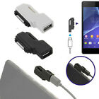 Micro USB To Magnetic Charger Adapter For Sony Xperia Z1 Z2 Z3 Compact Lovely