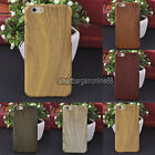 Vintage Imitated Wooden Wood Pattern Skin Hard Cover Case For iPhone 6/6 Plus