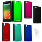 For ZTE Zmax Z970 Slim Hybrid Case Hard Cover Accessory + Screen Protector