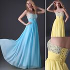 TOP DESIGN Masquerade Long Gown Ball Party Pageant Cocktail Evening Prom Dresses