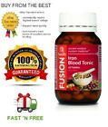 FUSION HEALTH - IRON BLOOD TONIC - HIGH ABSORPTION - ALL SIZES + FREE SHIPPING $29.95 AUD on eBay
