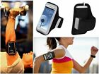 Black Sports Gym Running Armband Pouch Cover Case For HTC Desire 816