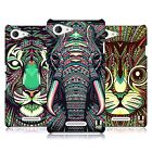 HEAD CASE DESIGNS AZTEC ANIMAL FACES SERIES 2 CASE FOR SONY XPERIA E3 D2202