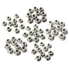 10pcs A2 M4-M12/7-18mm 304 Stainless Steel Metric Hex Flange Nuts Fit Bolt Screw