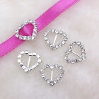 Multi Shape A-Grade Rhinestone Crystal Buckle Ribbon Slider Craft Wedding Favor