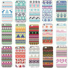 New fashion Various Pattern Skin Hard Back Case Cover For iPhone 4S 5 5S 5C 6