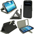 PU Leather Slim Flip Skin Case Cover Holder for Samsung Galaxy Mega 6.3 I9200
