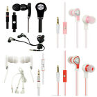 Sharp Aquos Crystal 306 Luxmo Hands Free Microphone Headset 3.5mm Jack Earbuds