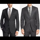 Hugo Boss 'Pasini2/Movie2' Comfort-fit New Wool 2 Button Suit Black / Charcoal