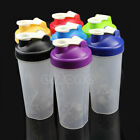 600ML Smart Shake Gym Protein Shaker Mixer Cup Blender Bottle Drink Whisk Ball