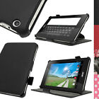 PU Leather Case Cover for Acer Iconia One 7 B1-730HD Folio Stand + Hand Strap