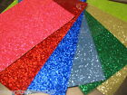 Glitter FLAKE Vinyl Sheets, Choose Your Color and Size. Sparkle-Brite Analog
