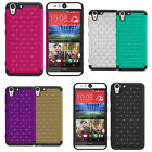 For HTC Desire Eye XShield Bling Hybrid Hard Cover Case Phone Accessory