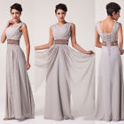 2015 Long Wedding Evening Party Ball Gown Prom Bridesmaid Dresses Plus Size 6-20