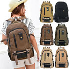 New Mens Canvas Backpack Large Capacity Outdoor Travel Rucksack Satchel Bags Hot