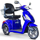 EWheels 3 Wheel Power Scooter,  EW 36,  Electric,  Fast,  Mobility Aid - 7 Colors