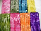 MORE melting pot batik fabrics 100% cotton India marbled and horizontal stripes