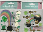 U CHOOSE  Jolee's END OF THE RAINBOW  POTS O' GOLD 3D Stickers st. patrick's day