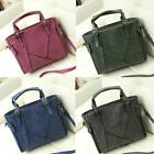 Women Vintage Handbag PU Leather Big Capacity Shoulder Crossbody Bag Tote